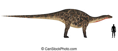 Dicraeosaurus Size Comparison