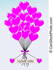 Heartballoons I Love You - *** Heartballoons I Love You ***