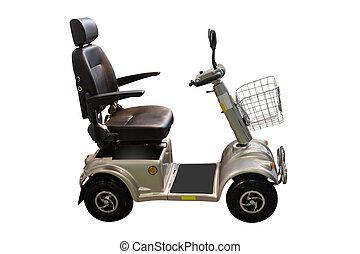 wheelchair - self-propelled wheelchair under the white...