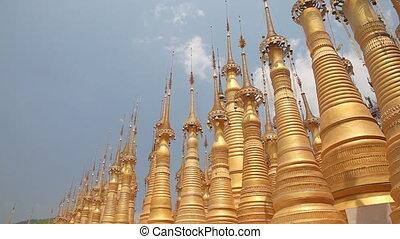 Pagoda Indein, Myanmar