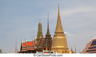 Roof of Grand Palace, Bangkok, Thai