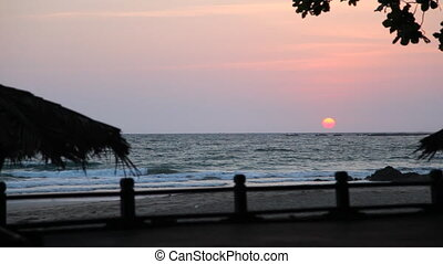 Ngapali beach sunset, Myanmar