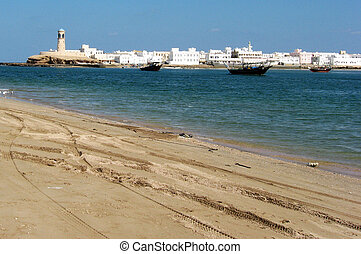 The Fishing Village of Sur in Oman.
