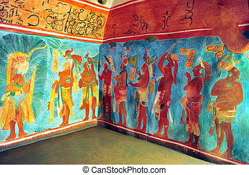 les, national, musée, Anthropolog, Mexique, ville