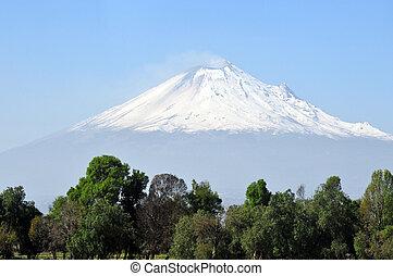 Popocatepetl volcano mountain