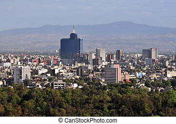 Mexico City Cityscape - Aerial photo of Mexico City, Mexico