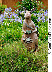 Kangaroo artistic custom made mailbox - Unique fun artistic...