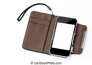smart phone with case