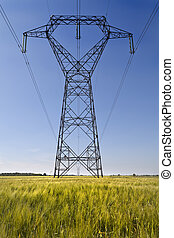 Metal giants - High voltage meta pillars in the middle of a...