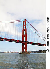 Golden Gates bridge in San Francisco