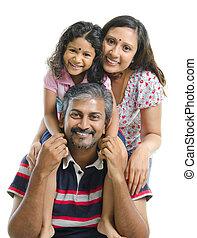 Happy Asian Indian family