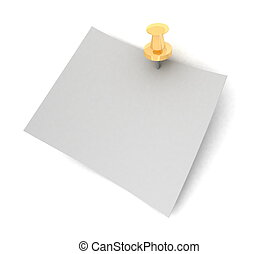 The sheet of paper