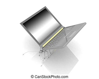 Similar to an insect laptop