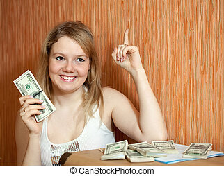 woman has successfully resolved its financial problems -...