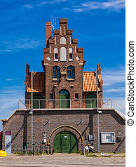 Historical Building in Stralsund (Germany).