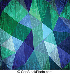 Abstract cyan grunge background. Vector