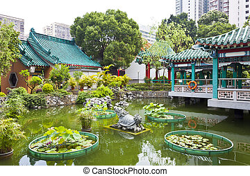 Chinese style garden