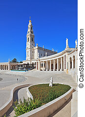 A tower and a colonnade around the square - A huge tower and...