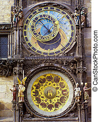 Prag astronomische Uhr - Astronomical Clock Prague