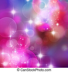 bokeh blurred lights background - A bright background with...