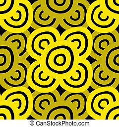 Background - Black & Yellow