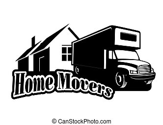 Home movers - An illustration of home movers icon