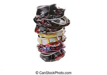 Crushed Pop Cans