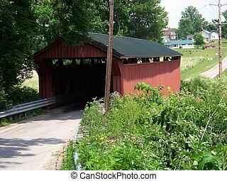 Buckskin Bridge - Buckskin Covered Bridge crosses Buckskin...