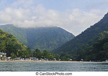Beach hamlet by the Pacific Ocean - Beach hamlet by the...