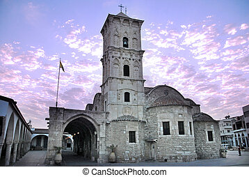 Travel Photos Cyprus - Larnaca - The old church of Saint...