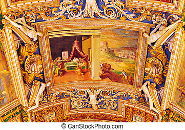 Travel Photos of Italy - Rome - Artwork at the Vatican...