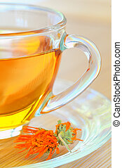 Nagietek, ziołowy, herbata