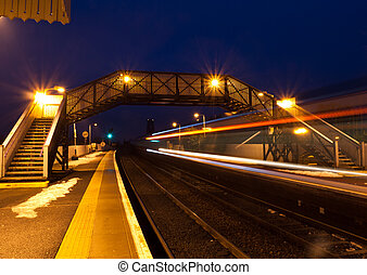 North Queensferry - Station North Queensferry near Edinburgh...