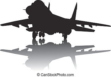 Aircraft silhouette
