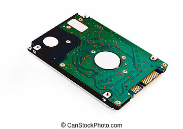 Laptop Harddisk Isolated