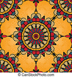traditional seamless pattern - Traditional seamless pattern...
