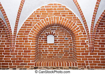 Cross-ribbed vault