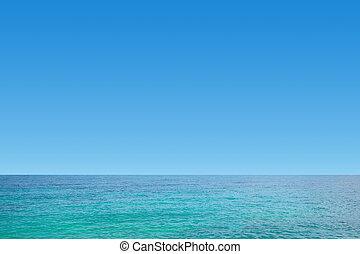 Nice sea and clear blue sky