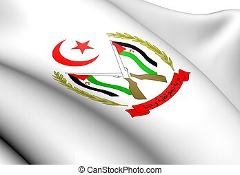 Sahrawi Arab Democratic Republic Coat of Arms