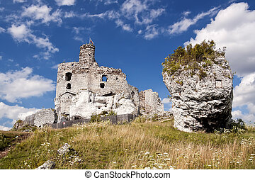 Castles of Poland - Gothic rocky castles in Poland Touristic...