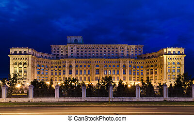 Bucharest, Parliament Palace - The Palace of the Parliament...