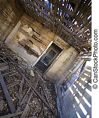 Decaying house - Home in a New Mexico ghost town that is...
