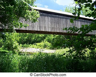 North Pole Covered Bridge - The North Pole Covered Bridge...