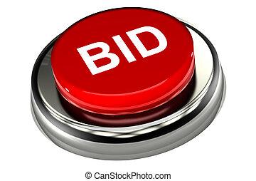 Bid Button - A Colourful 3d Rendered Bid Button Concept...