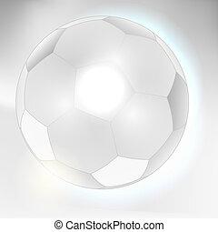 Abstract gray soccer ball backgroun