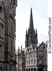 St Giles Cathedral Edinburgh Scotland - Architecture of St...