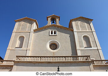 Saint Salvador church in Arta. Mallorca, Spain