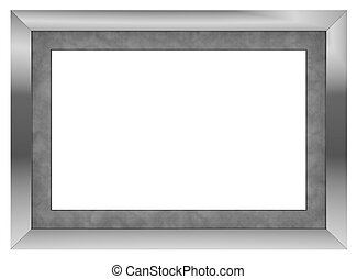 picture frame - one contemporary picture frame with blank...