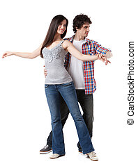 West Coast Swing - Social dance West Coast Swing....