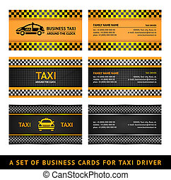 Business card taxi - second set